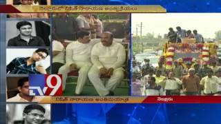 Thousands attend Nishit Narayana's final journey - TV9