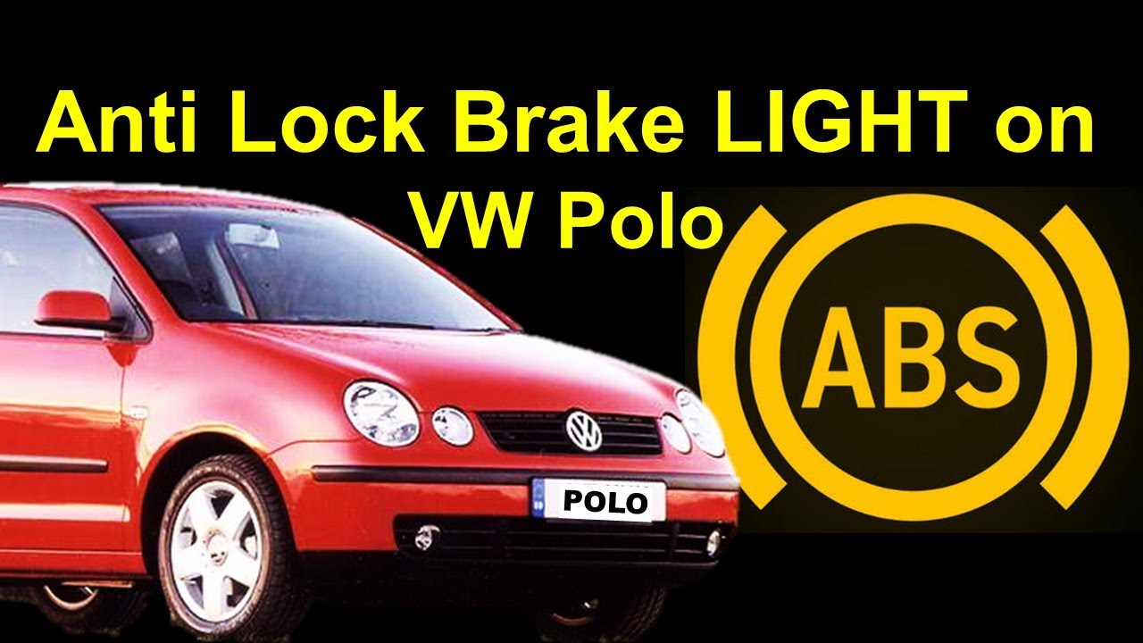 Vw Polo Abs Light On Skoda Fabia Easy Fix