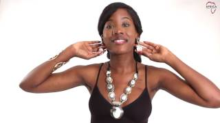 Protection necklace & earrings from Africa Imports