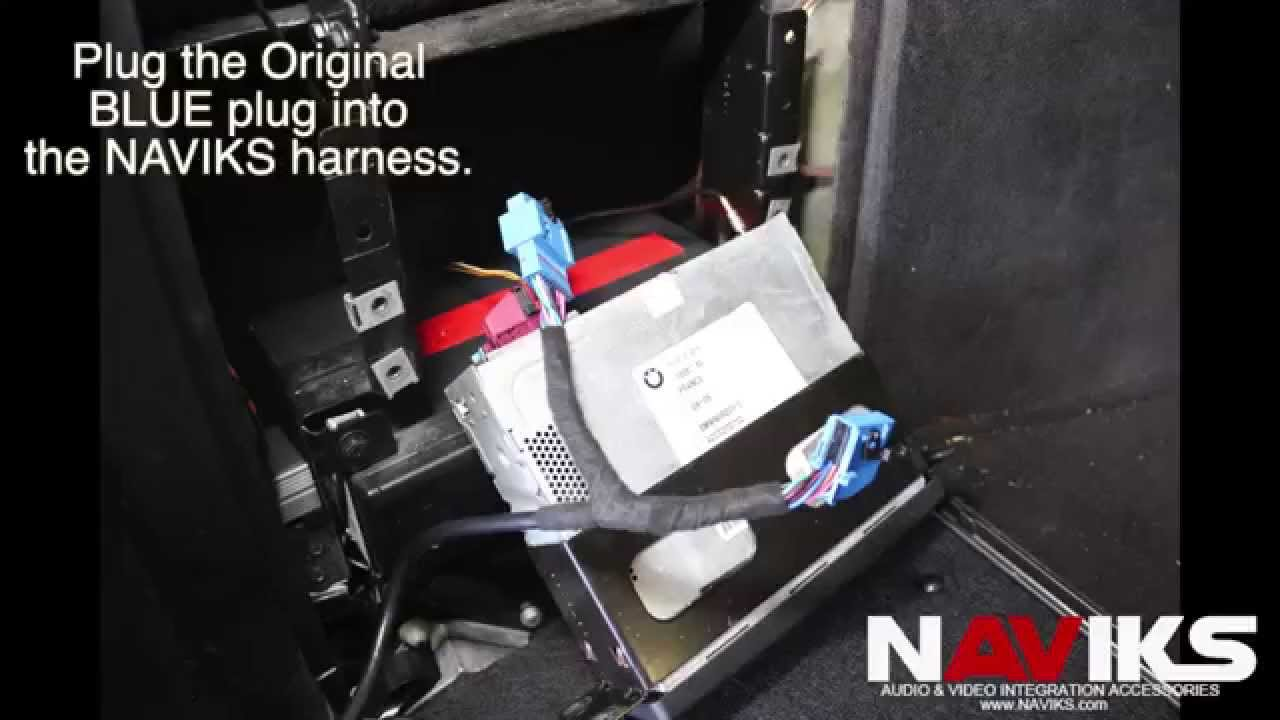 bmw x5 e53 2004 naviks navigation video interface install