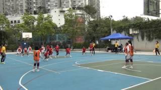 2015-16全港學界閃避球錦標賽(新界東區)小學女子組 曾