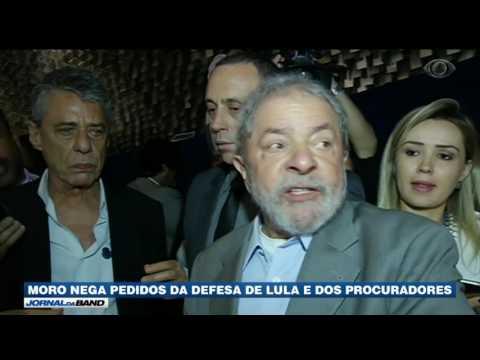 Moro nega pedidos da defesa de Lula e dos procuradores