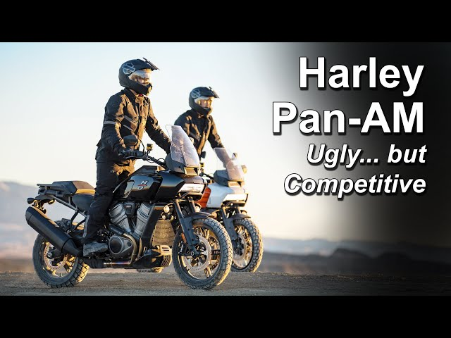 Harley Davidson Pan America - Way more competitive than expected?