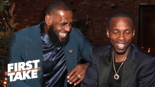 LeBron and Rich Paul's relationship is good for the NBA – Max Kellerman | First Take Video