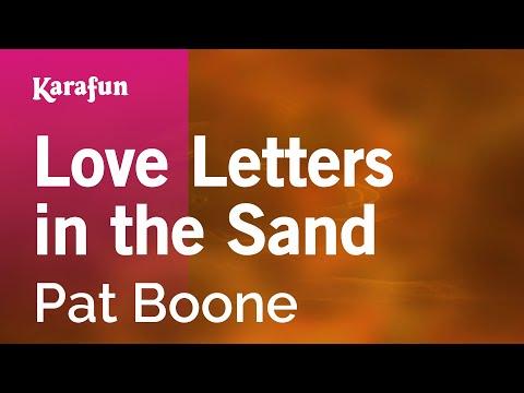 Karaoke Love Letters In The Sand - Pat Boone *