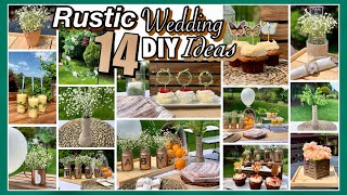 Outdoor RUSTIC Wedding Baby Shower DIY DECOR Ideas