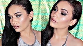 Matte Smokey Eye + Metallic Lips & Skin | #TBT Kat Von D Shade + Light
