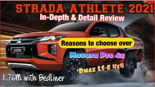 Detailed and In-depth Car Review (Mitsubishi Strada Athlete 2021)