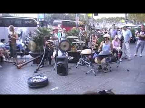 Minimal Acoustic Band MAB @ Barcelona 2008