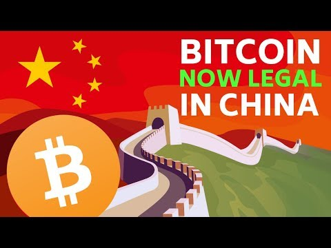 Bitcoin Now LEGAL in China, plus EOS and Unibright - Today's Crypto News (edited)