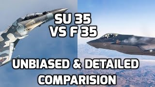 SU 35 VS F 35 UNBIASED DETAILED COMPARISON:TOP 5 FACTS (Updated)