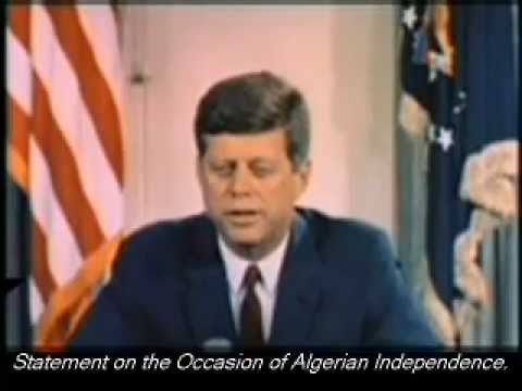 July 3, 1962 - President John F. Kennedy - Statement on the Occasion of Algerian Independence