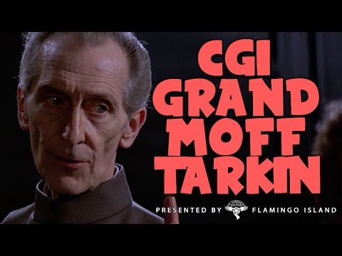 CGI GRAND MOFF TARKIN - Rogue One: A Star Wars Story