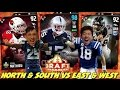 NORTH & SOUTH VS EAST & WEST DRAFT! MADDEN 17 DRAFT CHAMPIONS