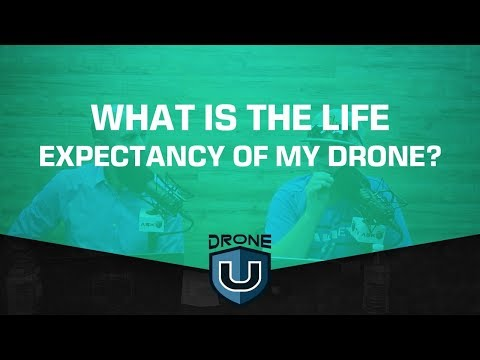 What is the life expectancy of my drone?