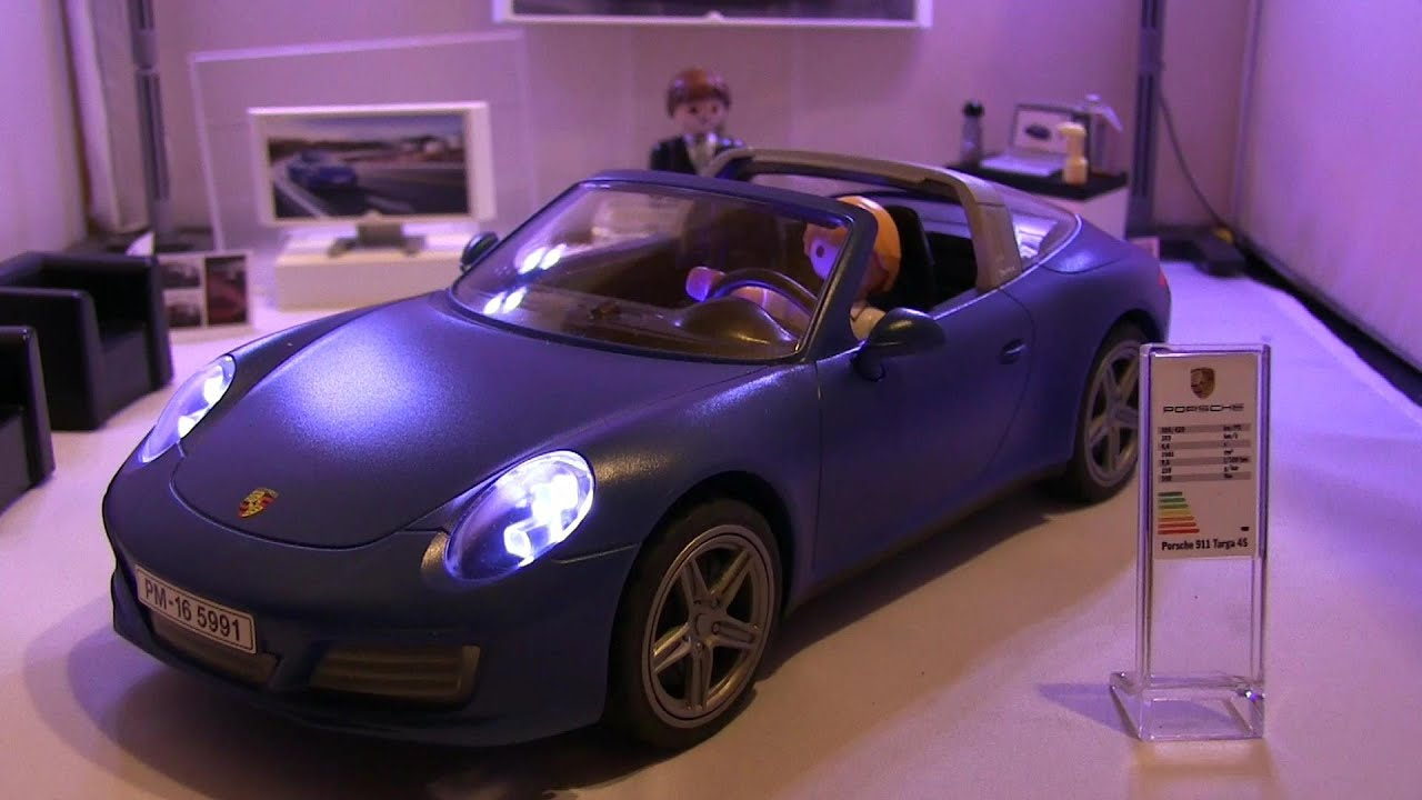 playmobil 2017 playmobil porsche 911 targa 4s bleu ref. Black Bedroom Furniture Sets. Home Design Ideas