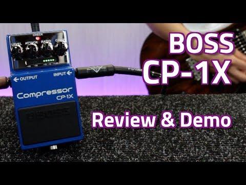 Boss CP-1X vs CS-3 Compressor - Review, Demo & Comparison