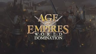 Official Age of Empires: World Domination (iOS / Android) Announcement Trailer