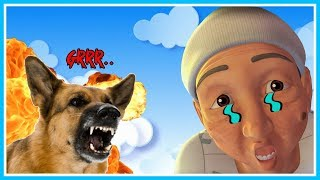 Opah eaten the dog!! Opah dead?? The sad Ipin-ROBLOX UPIN IPIN
