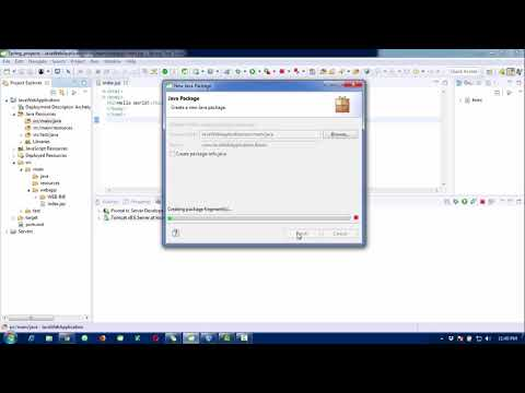 Java Web Application Development Using Eclipse Or STS Tool Configure MVC Architecture