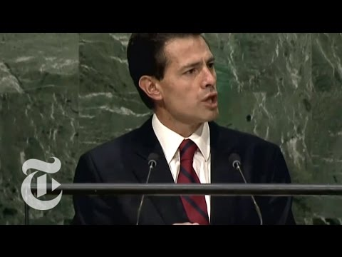 U.N. General Assembly 2015 Speeches-Day 1 | The New York Times