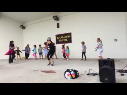 Gold's Gym Outdoor Zumba Class at the Paramus Library