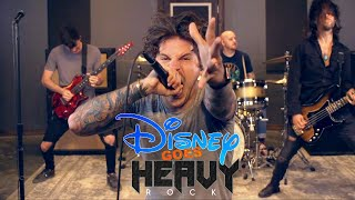 DISNEY goes HEAVY ROCK | with Our Last Night