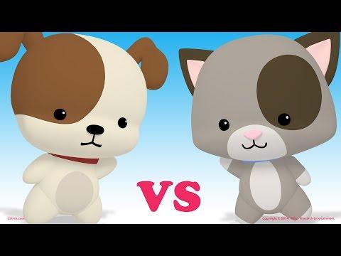 Puppies vs Kittens - Dance Battle