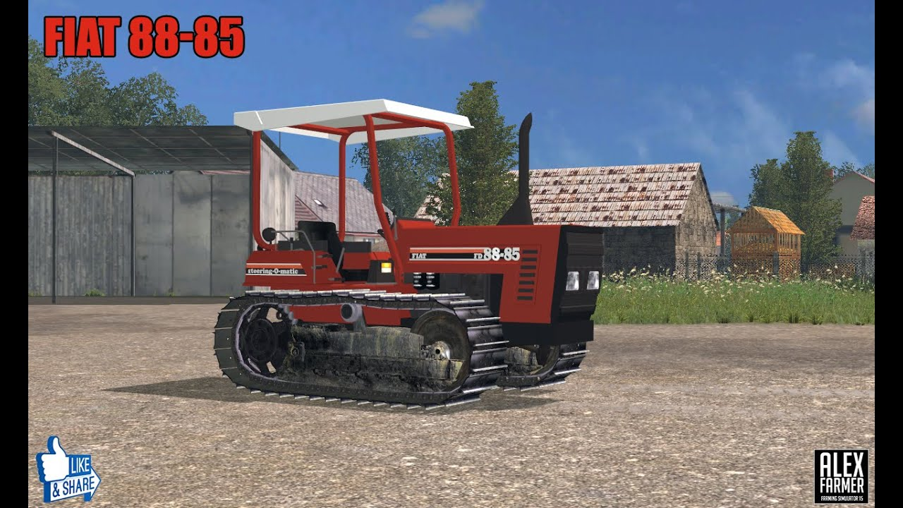 Cingolato Fiat 88-85 Farming Simulator 15 - YouTube