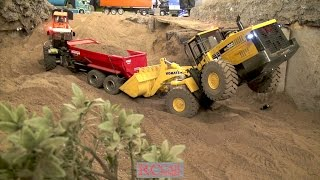 4. Advent R/C meeting with trucks and construction machines at RCTKA part 3
