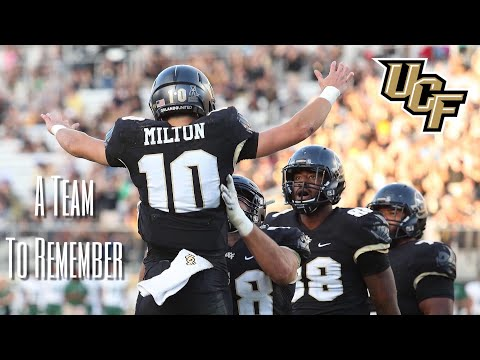 A Team To Remember: 2017-18 UCF Knights