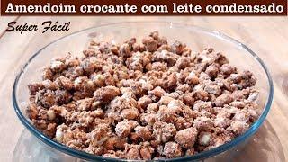 Amendoim Crocante com Leite Condensado #116 Amendoim Cri Cri