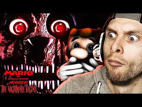 PLUSHTRAP GOT ME GOOD! | FNAF Mario In Animatronic Horror The Nightmare Begins Demo CH 2 Gameplay!
