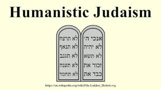 Humanistic Judaism