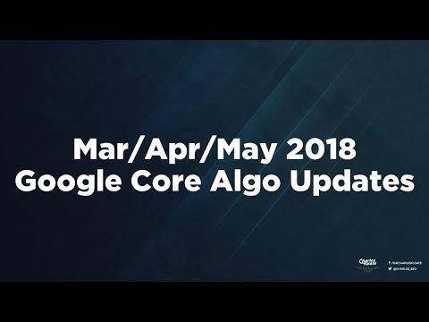 Google Core Algorithm Updates Explained - March, April & May 2018