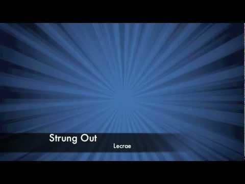 Lecrae - Strung Out (Lyrics)