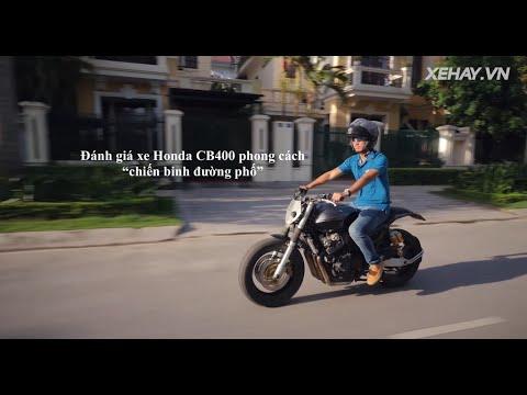 """[XEHAY.VN] Đánh giá xe Honda CB400 phong cách """"Chiến binh đường phố"""""""