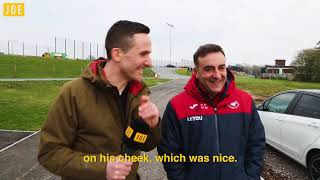 We went to Swansea City Football Club to meet the mercurial and entertaining Carlos Carvalhal