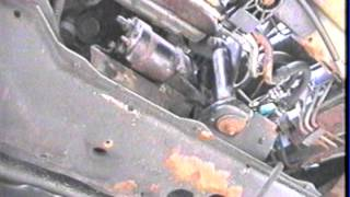 Replacing  starter 95 Buick Park Avenue  3800 Engine