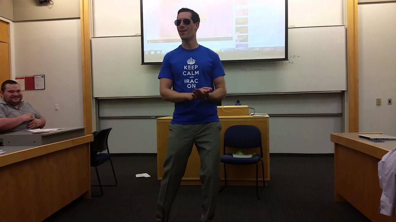 """Law Professor sings about the bar exam - """"Shake It Off ..."""