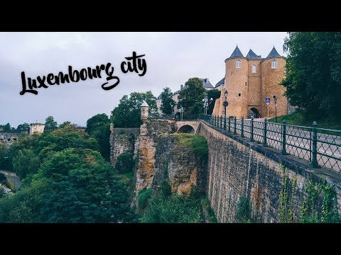 Roadtrip to England pt.1: Luxembourg city
