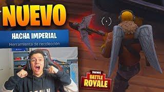 Baixar EPIC VICTORIA CON EL NUEVO PICO *Hacha Imperial* DE FORTNITE: Battle Royale!