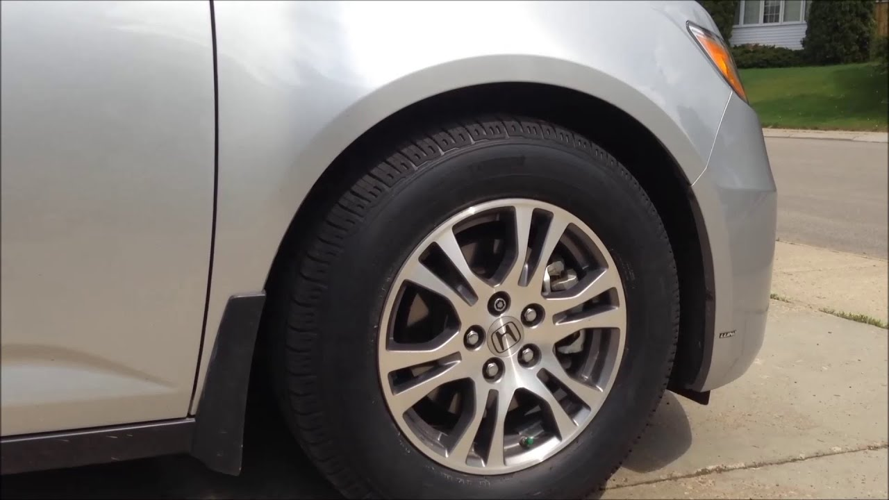 Best Tires For Honda Odyssey >> REVIEW: BEST TIRES for the Honda Odyssey Minivan - YouTube