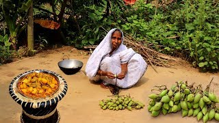 Moufal Curry Recipe Cooking by our Grandmother | Unknown & Healthy Village Food