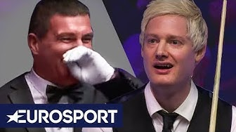 Arena Left STUNNED by Five Seconds of Ridiculous Snooker! | London Masters 2020 | Eurosport