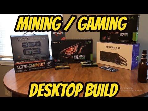 Hybrid Mining / Gaming Desktop Build