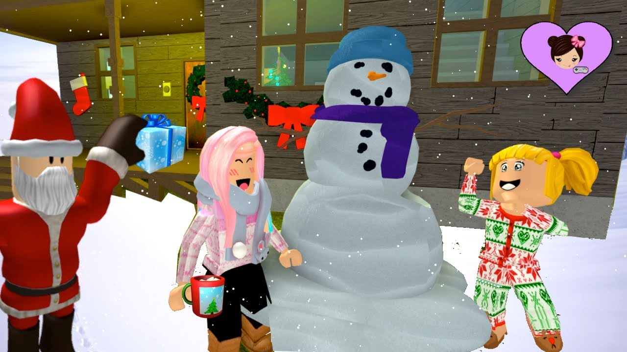 Baby Dolls Episode Roblox Christmas Routine With Baby Goldie Titi Games