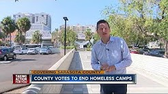 Sarasota County bans homeless camps in hopes of moving them into shelters