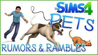 Pets in the Code?!  Sims 4 Pets Rumors & Rambles