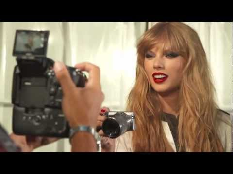 Nigel Barker - 8 Hours with Taylor Swift Photoshoot BTS 2012